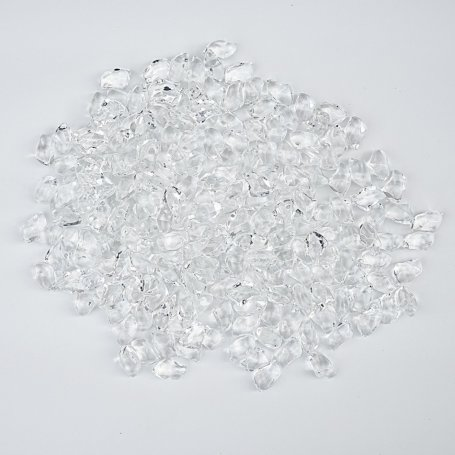 Koristekristallit Kratki takkaan, kirkas kristalli