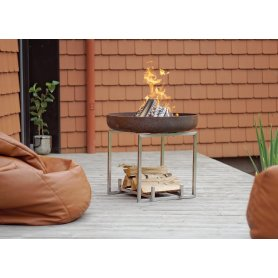 Korkea Tulipesä Cube - Fire Pit