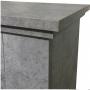 Sähkötakka Asti beton ECO LED, Optiflame®