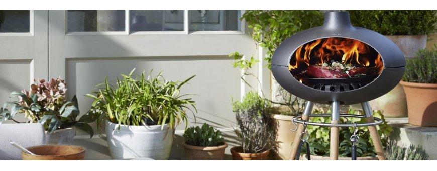 Morso Forno Garden grillisarja tarjoaa monipuolista ja luonnonläheistä ruoanlaittoa tyylillä. Tanskalainen laatugrilli.
