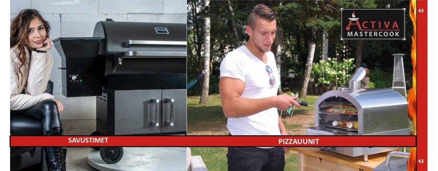 Activa savustimet ja pizzauunit