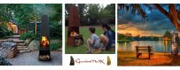 GardenMax ulkotakka mallit tehdään käsityönä, laadukkaita pihatakkoja ja ulkotakkoja. Valitse musta tai ruoste viimeistely.
