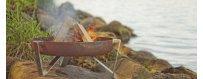 Arpe Studio tulipesät, Quality Design, Kestävä ja tyylikäs ulkotulisija puutarhaan. Oikein valmistettu ulkotulisija pitää poltettavat materiaalit kulhossaan,
